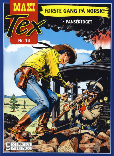 Cover for Maxi Tex (Hjemmet / Egmont, 2008 series) #14