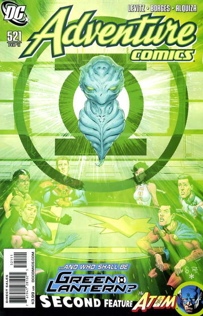 Cover for Adventure Comics (DC, 2009 series) #521