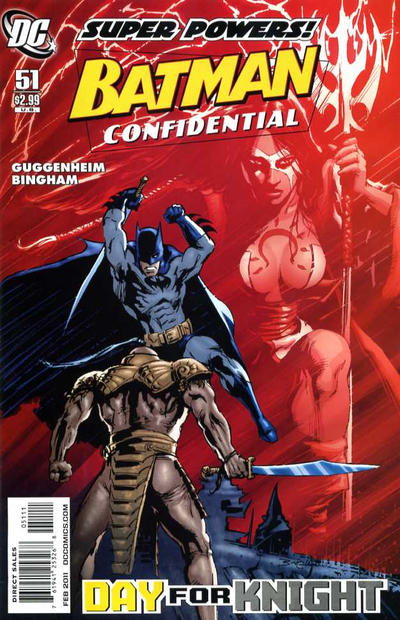 Cover for Batman Confidential (DC, 2007 series) #51