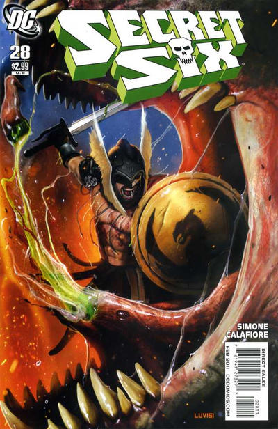 Cover for Secret Six (DC, 2008 series) #28