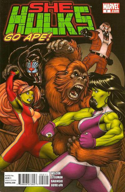 Cover for She-Hulks (Marvel, 2011 series) #2