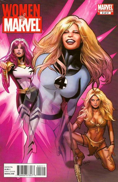Cover for Women of Marvel (Marvel, 2011 series) #2