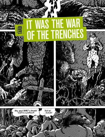 Cover for It Was the War of the Trenches (Fantagraphics, 2010 series)
