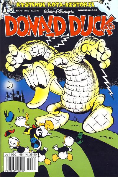 Cover for Donald Duck & Co (Hjemmet / Egmont, 1948 series) #48/2010