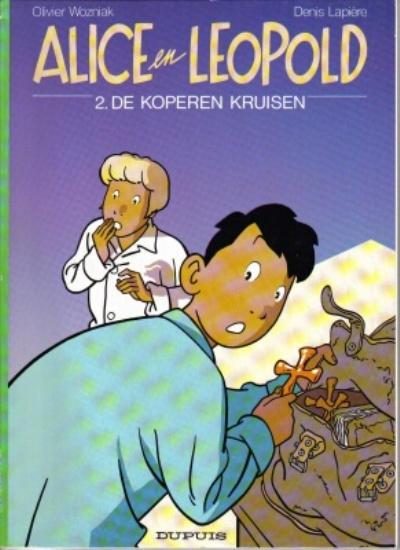 Cover for Alice en Leopold (Dupuis, 1991 series) #2