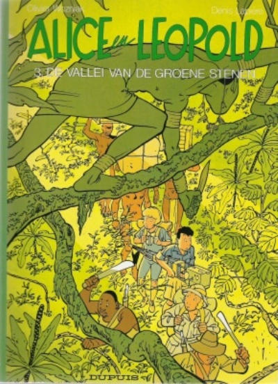 Cover for Alice en Leopold (Dupuis, 1991 series) #3