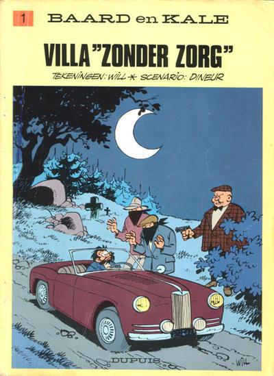 Cover for Baard en Kale (Dupuis, 1954 series) #1
