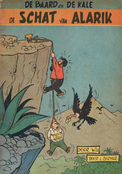 Cover for Baard en Kale (Dupuis, 1954 series) #2