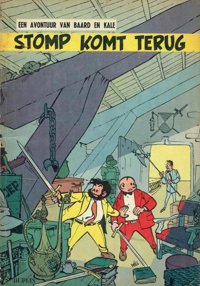 Cover for Baard en Kale (Dupuis, 1954 series) #5 - Stomp komt terug