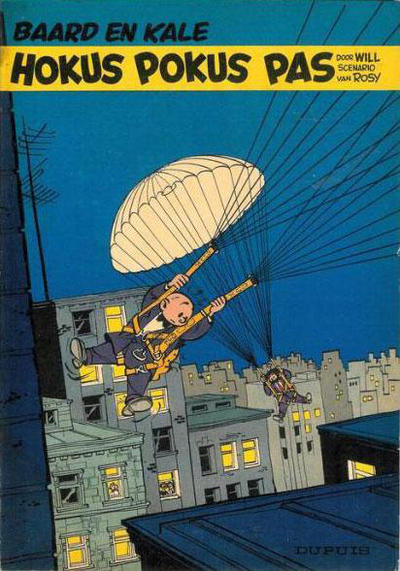 Cover for Baard en Kale (Dupuis, 1954 series) #6 - Hokus pokus pas