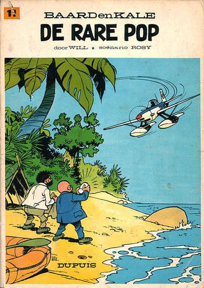 Cover for Baard en Kale (Dupuis, 1954 series) #11 - De rare pop [Eerste druk]