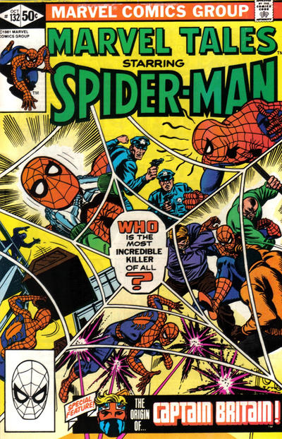 Cover for Marvel Tales (Marvel, 1966 series) #132 [Direct]