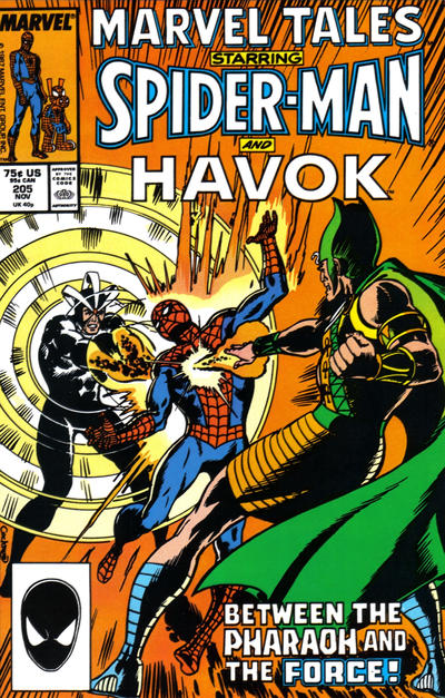 Cover for Marvel Tales (Marvel, 1966 series) #205 [Newsstand]
