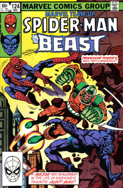 Cover for Marvel Team-Up (Marvel, 1972 series) #124 [Direct Edition]