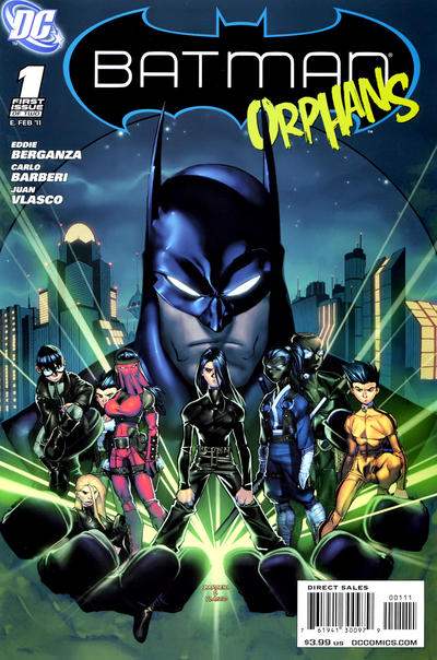 Cover for Batman: Orphans (DC, 2011 series) #1