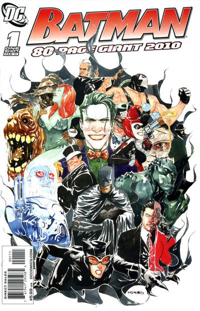 Cover for Batman 80-Page Giant 2010 (DC, 2011 series) #1