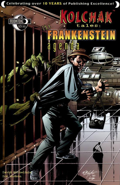 Cover for Kolchak Tales: Frankenstein Agenda (Moonstone, 2007 series) #3