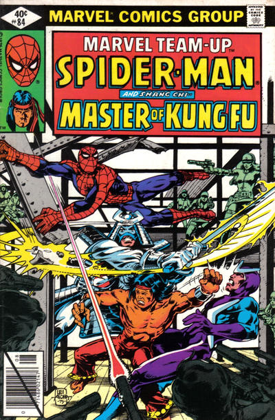 Cover for Marvel Team-Up (Marvel, 1972 series) #84 [Direct Edition]