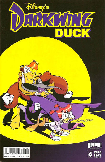 Cover for Darkwing Duck (Boom! Studios, 2010 series) #6 [Cover A]
