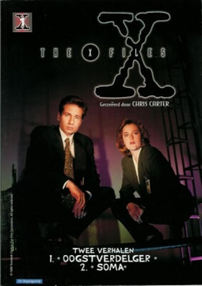 Cover for X-Files (De Stripuitgeverij/Infotex, 1999 series) #1
