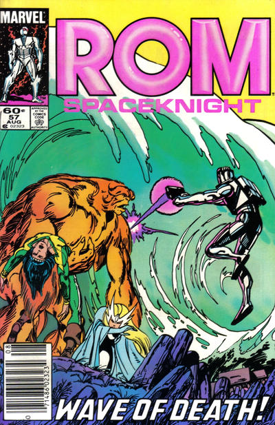Cover for ROM (Marvel, 1979 series) #57 [Newsstand Edition]