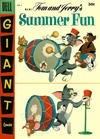 Cover for M-G-M's Tom & Jerry's Summer Fun (Dell, 1954 series) #4