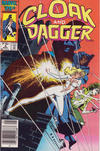 Cover for Cloak and Dagger (Marvel, 1985 series) #6 [Newsstand Edition]