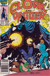 Cover for Cloak and Dagger (Marvel, 1985 series) #8 [Newsstand Edition]