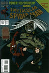 Cover for The Spectacular Spider-Man (Marvel, 1976 series) #217 [Flipbook]