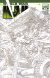 Cover for World War Hulk (Marvel, 2007 series) #3 [Sketch Variant Edition]