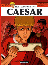 Cover Thumbnail for Alex (Casterman, 1968 series) #29 - Het testament van Caesar