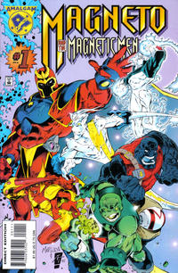 Cover Thumbnail for Magneto and His Magnetic Men (Marvel, 1996 series) #1 [Direct Edition]