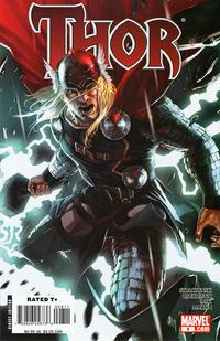 Cover Thumbnail for Thor (Marvel, 2007 series) #8 [Marko Djurdjevic variant cover]