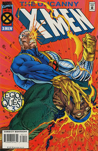 Cover for The Uncanny X-Men (Marvel, 1981 series) #321 [Direct Deluxe Edition]