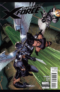 Cover Thumbnail for Uncanny X-Force (Marvel, 2010 series) #1 [Second Printing]