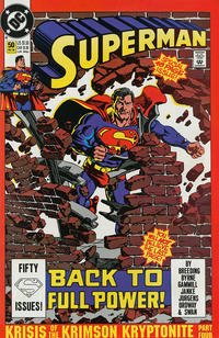 Cover Thumbnail for Superman (DC, 1987 series) #50 [Direct]