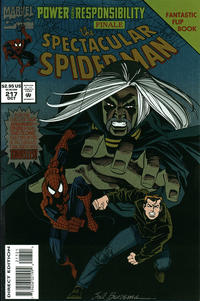 Cover Thumbnail for The Spectacular Spider-Man (Marvel, 1976 series) #217 [Flipbook] [Direct Edition]