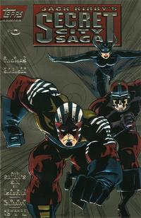 Cover Thumbnail for Jack Kirby's Secret City Saga (Topps, 1993 series) #0 [Gold cover]