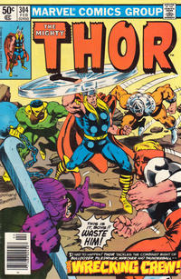 Cover Thumbnail for Thor (Marvel, 1966 series) #304 [Newsstand]