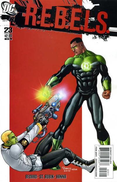Cover for R.E.B.E.L.S. (DC, 2009 series) #23