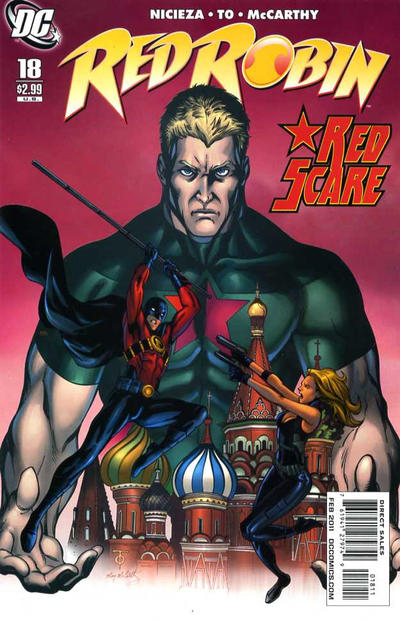 Cover for Red Robin (DC, 2009 series) #18