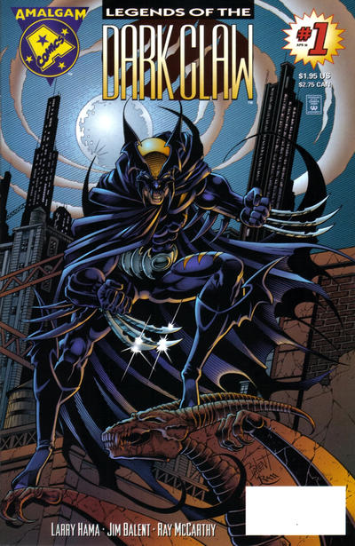 Cover for Legends of the Dark Claw (DC, 1996 series) #1 [Direct Edition]
