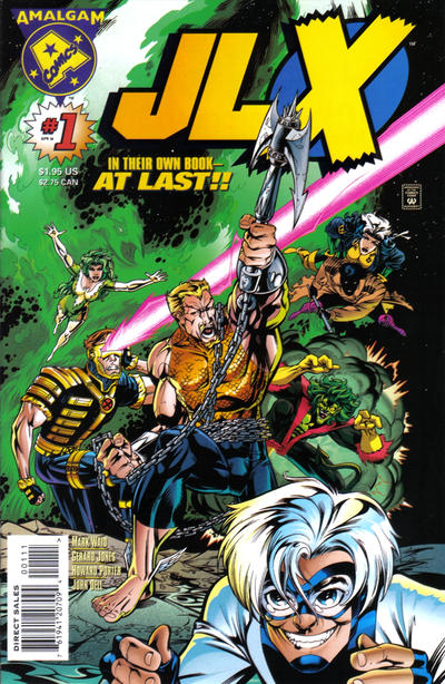 Cover for JLX (DC, 1996 series) #1 [Direct Edition]