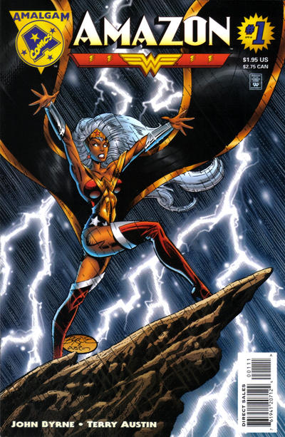 Cover for Amazon (DC, 1996 series) #1 [Direct Sales]