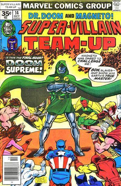 Cover for Super-Villain Team-Up (Marvel, 1975 series) #14 [35¢]