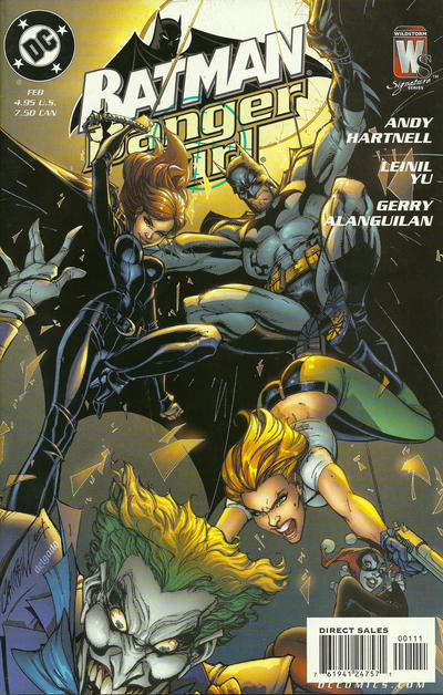 Cover for Batman / Danger Girl (DC, 2005 series) #1 [Leinil Yu Cover]