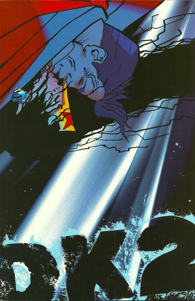 Cover for The Dark Knight Strikes Again (DC, 2001 series) #2 [With Title Banner]