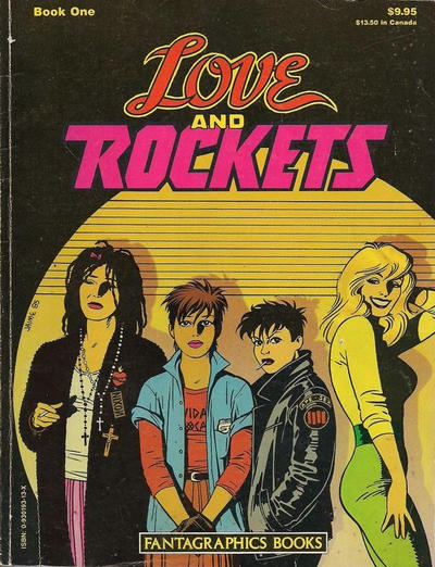 Cover for The Complete Love & Rockets (Fantagraphics, 1985 series) #1 [1st Edition]