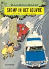 Cover for Baard en Kale (Dupuis, 1954 series) #9 - Stomp in het Louvre [Herdruk 1975 en later]