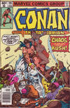 Cover Thumbnail for Conan the Barbarian (1970 series) #106 [Newsstand Edition]
